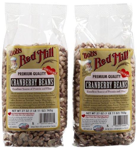 Bob's Red Mill Cranberry Beans, 27 oz, 2 pk
