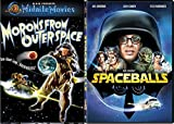 Morons from Outer Space + Spaceballs DVD Comedy Sci-Fi Spoof Double Feature Set