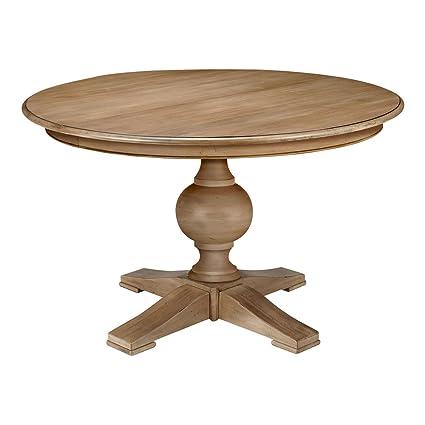 Amazon.com - Ethan Allen Cooper Round Pedestal Dining Table ...