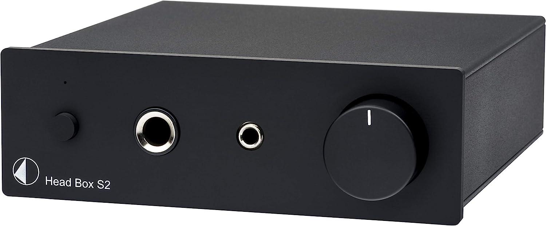Pro Ject Head Box S2 Mikro High End Kopfhörerverstärker Head Box S2 Schwarz Audio Hifi