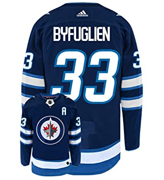first rate 29b39 0d79b Dustin Byfuglien Winnipeg Jets Adidas Authentic Home NHL ...