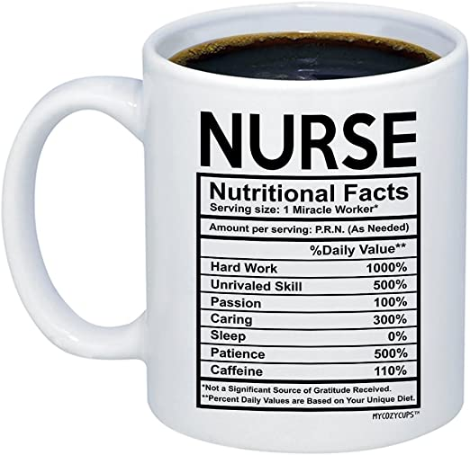 Valentines Day Christmas School Graduation Mycozycups Nurse Mug Funny Nursing Student Rn Coffee Mug By Great