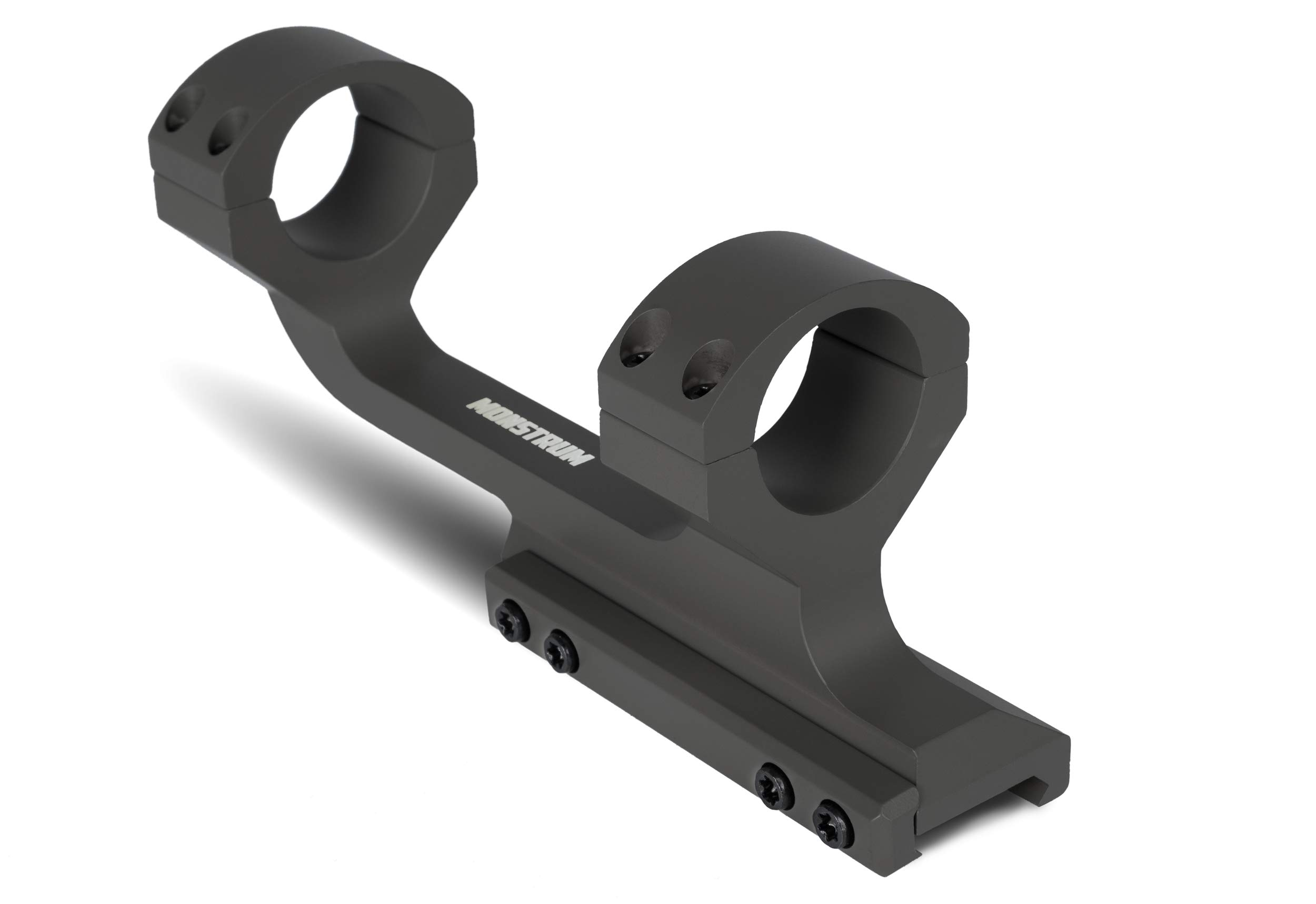 Monstrum Extended Series Offset Picatinny Scope Mount for Long Range Scopes | 30 mm Diameter