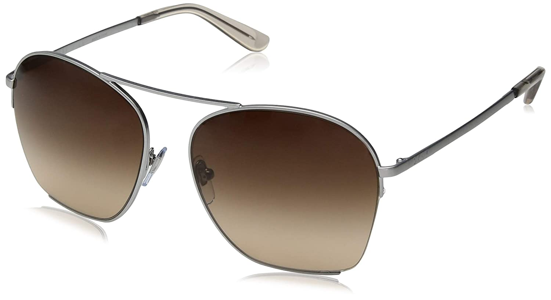 DKNY 0DY5086 Gafas de sol, Shiny Silver, 57 para Mujer ...