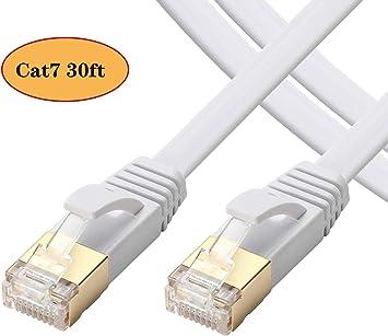 "33ft CAT7 RJ45 STP LAN High Speed Gigabit Network /"" Ethernet Cat 7 Cables Cable"
