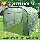 STRONG CAMEL New Greenhouse 10'X7'X6' Larger Hot Garden House Replacement Cover (Frame Does Not Included)