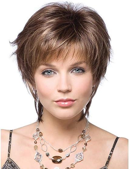Fleurapance - Pelucas de pelo resistente al calor. Peluca de pelo ...
