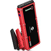 MOOCK 1000A Peak 18000mAh Car Jump Starter Built-in LED Flashlight
