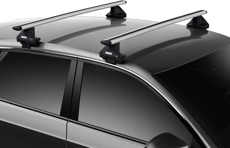 Normal Roof Thule TH-WBB-0235 WingBar Evo Black Aero Aluminium Roof Bar Set