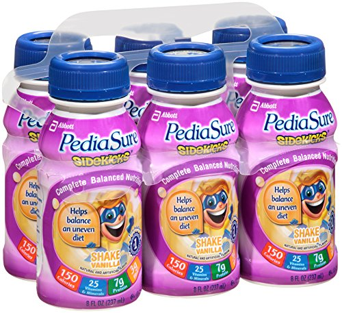 PediaSure Side-Kicks, Vanilla, 48 oz