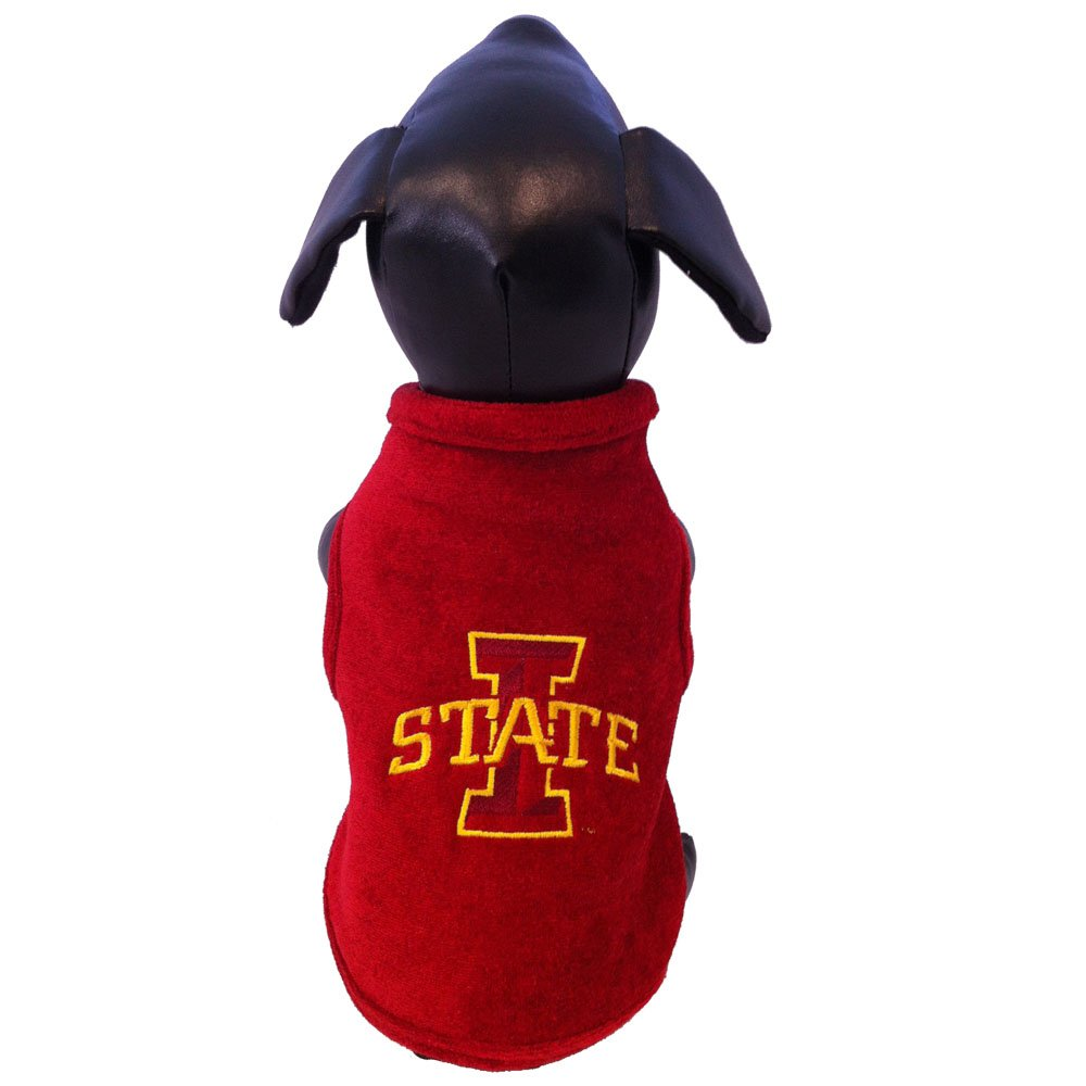All Star Dogs NCAA Iowa State Cyclones Polar Fleece Dog Sweatshirt, Small by All Star Dogs