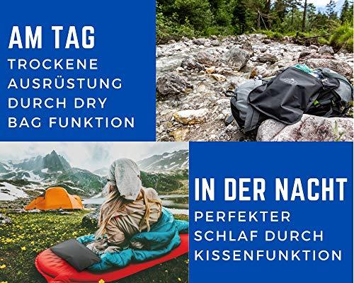 61RJRzEIvWL SENNS GEAR® Wasserdichter Packsack 15 Liter - Ultralight, Wasserfeste Tasche, YKK Zip, Cordura Material inkl…