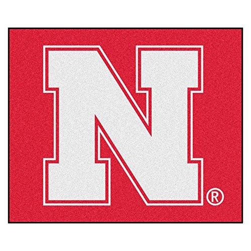- NCAA University of Nebraska - Blackshirts Cornhuskers Tailgater Mat Rectangular Outdoor Area Rug