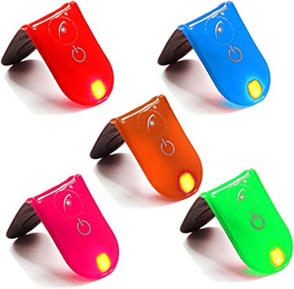 Neue Clip-On Tuch LED Lampe Magnet Laufen Gehen Radfahren Nacht Sicherhe DIA