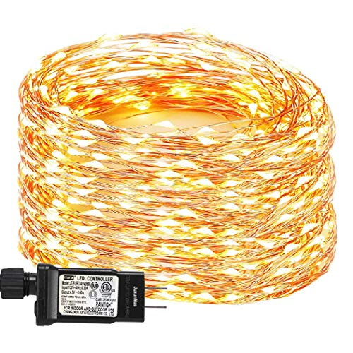 Warm White Led Christmas Lights White Cord