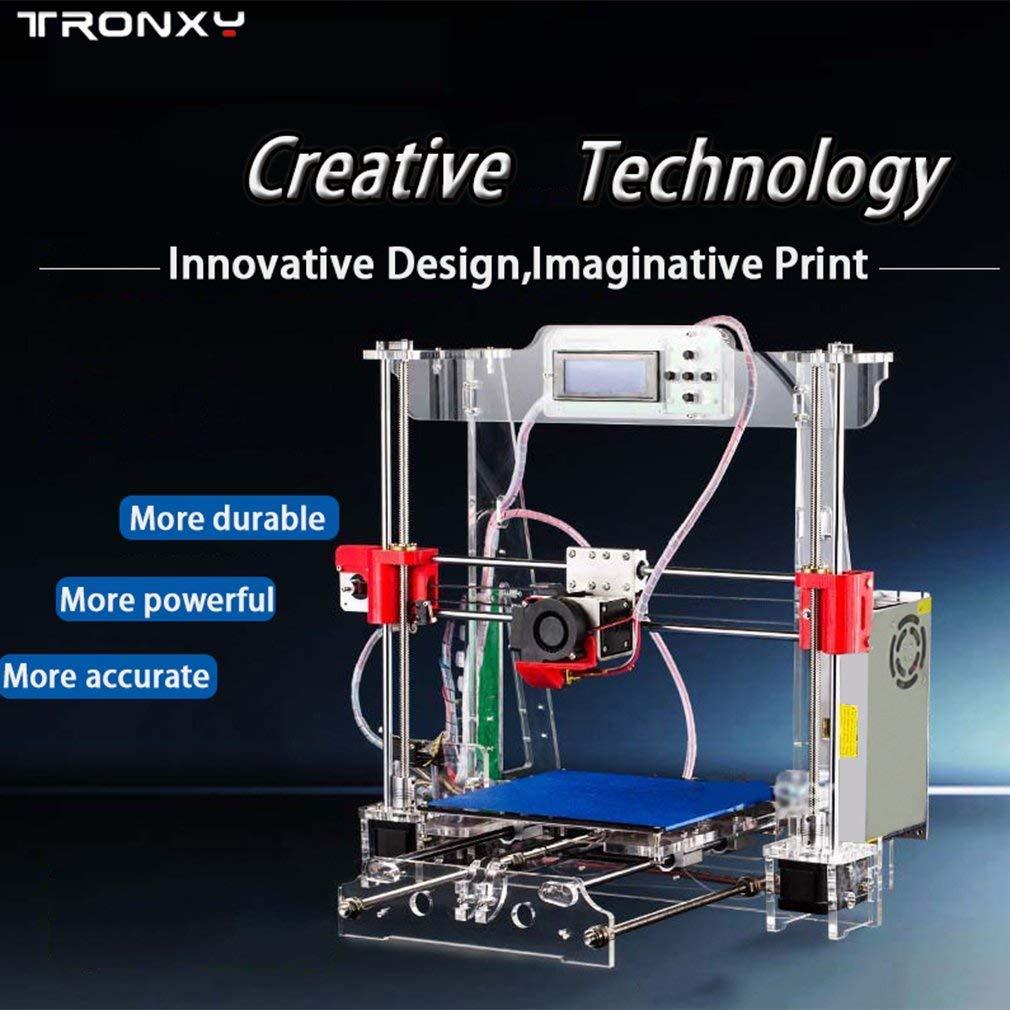Tronxy P802M High Accuracy 3D Desktop Printer Prusa i3 DIY Kit LCD Screen MA