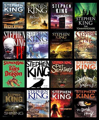 Stephen King Fan Custom Blanket - Favorite Stephen King Book Blanket- Personalized Blanket for your Stephen King Fan