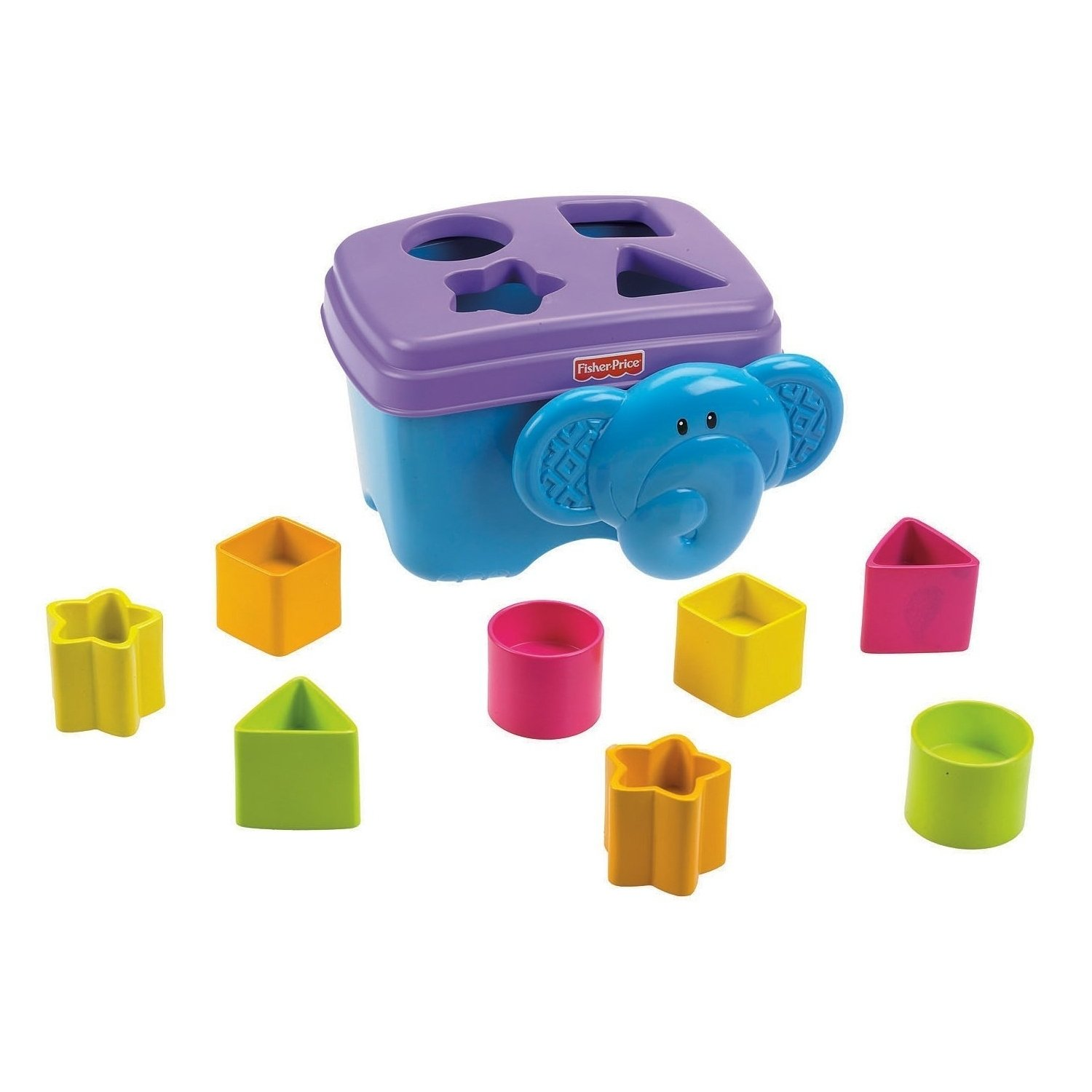 Fisher Price Growing Baby Elephant Shape Sorter by Fisher-Price