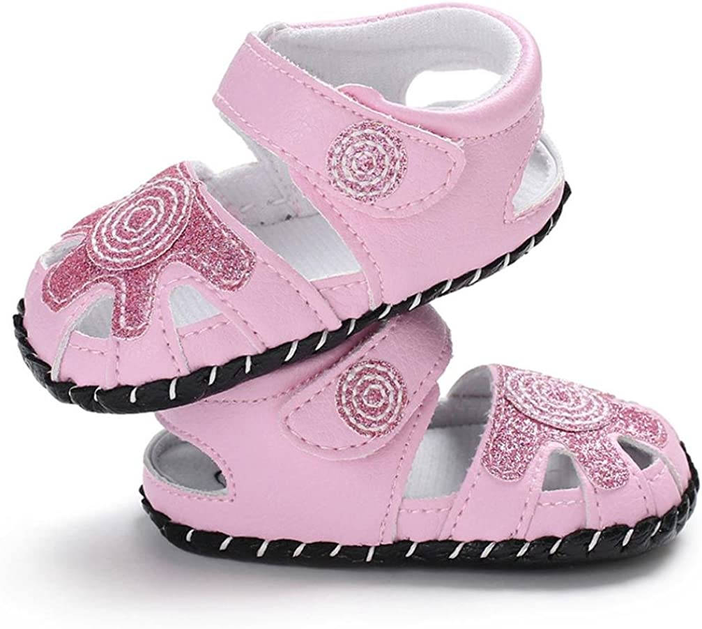 WARMSHOP Baby Moccasinss Crib Shoes Girls Lace-ups Floral Pattern Cute Anti-Slip Sneakers Casual Flats Prewalker Shoes