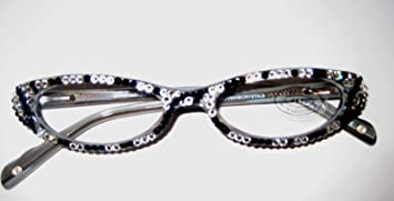 09eb7470689 Image Unavailable. Image not available for. Color  Reading Glasses 2.00 by Jimmy  Crystal of NY Swarovski Elements