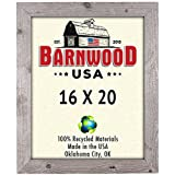 barnwoodusa rustic 16x20 picture frame with 1 inch molding 100 up cycled