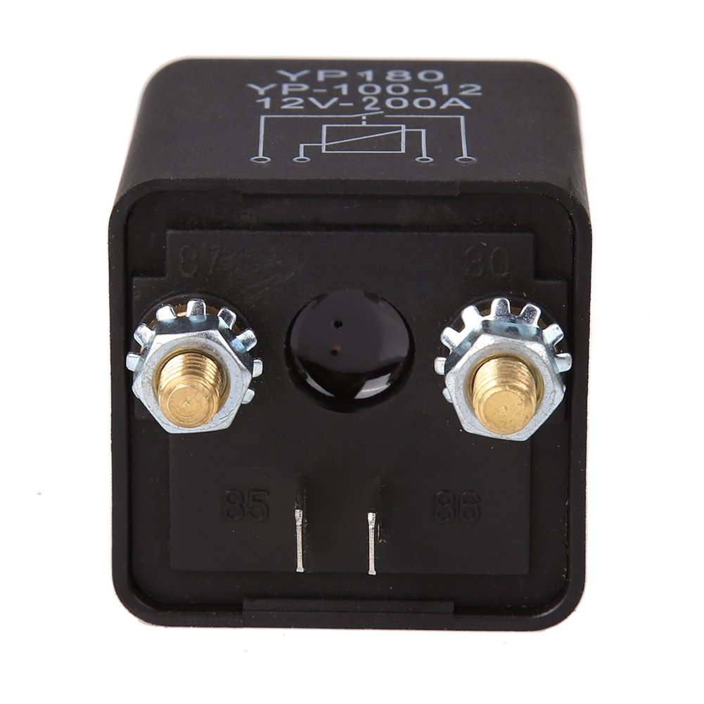 200A WinnerEco Car Truck Motor Automotive Relay 24V//12V 200A//100A Continuous Type Automotive