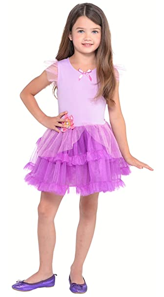 90dc7d05ac52 Amazon.com  Disney Princess Rapunzel Toddler Girls  Tutu Dress ...