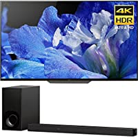 Sony Bravia XBR55A8F 55 OLED 4K HDR10 HLG and Dolby Vision TV 3840x2160 & Sony HTZ9F 3.1Ch 4K HDR Compatible Dolby Atmos Soundbar with Built-in WiFi & Bluetooth