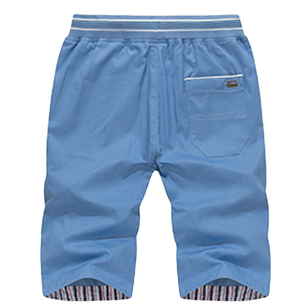 iMakcc Men Casual Classic Fit Beach Shorts Swim Trunks Quick Dry Sport Surfing Pants