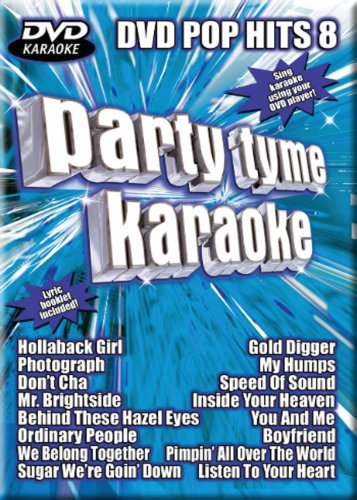 Party Tyme Karaoke: Pop Hits, Vol. 8 (Party Tyme Karaoke Dvd)