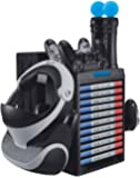 Skywin Charging Station Compatible with PS4 VR Headset - PSVR Charging Stand with Game Disc Rack, Headset and Console…