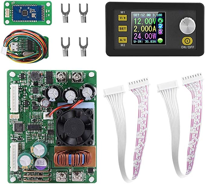 Adjustable Buck DC-DC Double Display Step Down Pulse Power Supply LCD Module