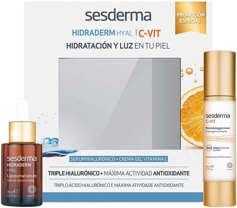 Sesderma Hidraderm Hyal Liposomal Serum Facial, 30ml+C-Vit ...