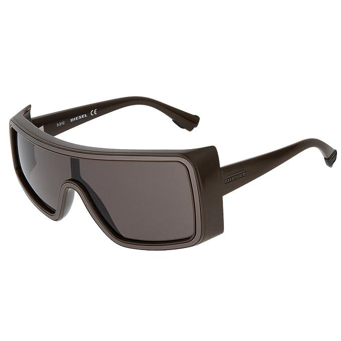 Diesel Sonnenbrille, Gafas de sol Unisex Adulto, Marrón ...