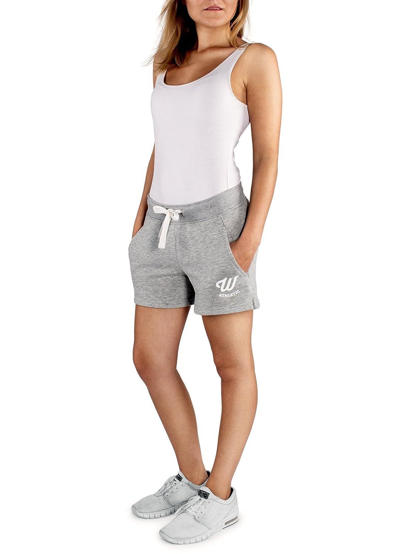 TALLA S. WOLDO Athletic - Pantalón Corto Deportivo - para Mujer