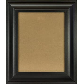 craig frames 21834700bk 8x12 pictureposter frame smooth finish 2 inch wide