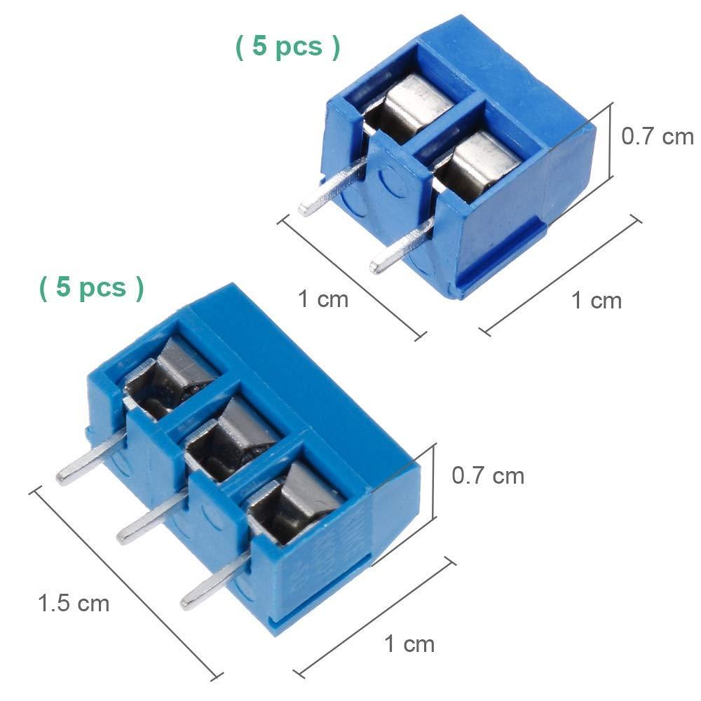 Sourcingmap 15Pcs PCB Header Right Angle 40 Way 2.54mm Spacing Connector Black
