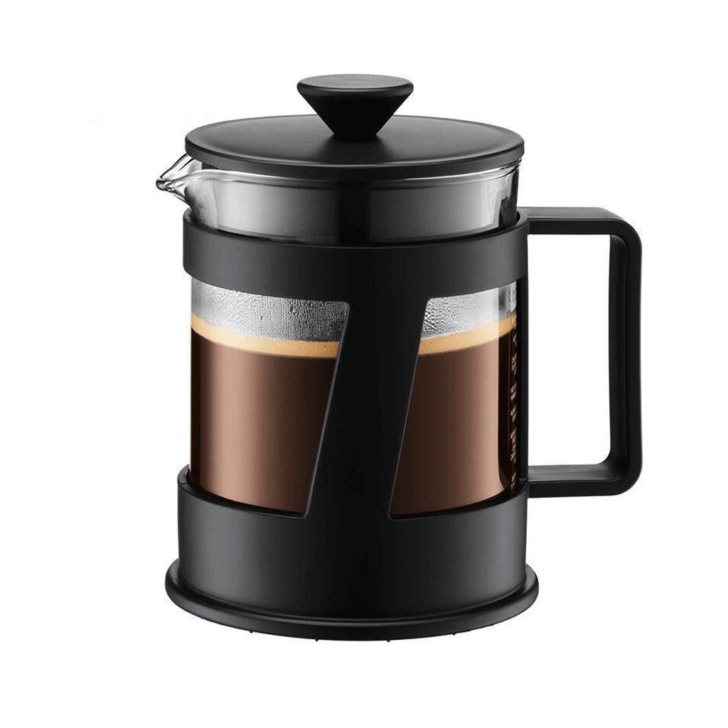 Acquisto ZHAOJING Pressione Pressione pentola in vetro caffettiera filtro di calore pressione tè 500ml importati Prezzi offerta