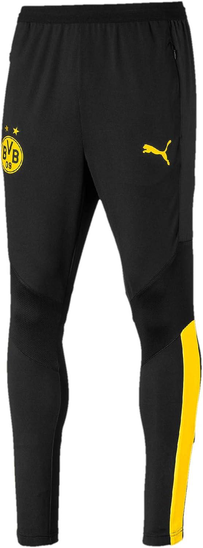 PUMA BVB Training Pro with Zip Pockets BVB Training Pro with Zip Pockets Pantalon de Jogging Homme