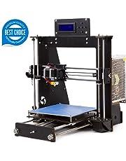 3D Printer DIY-I3 Desktop DIY 3D Printer Self-Assembly Prusa i3 Kit High Precision 3D Printers with LCD Screen 3d Printer Kit, Tigtak (Platform Size 200 * 200 * 180MM)