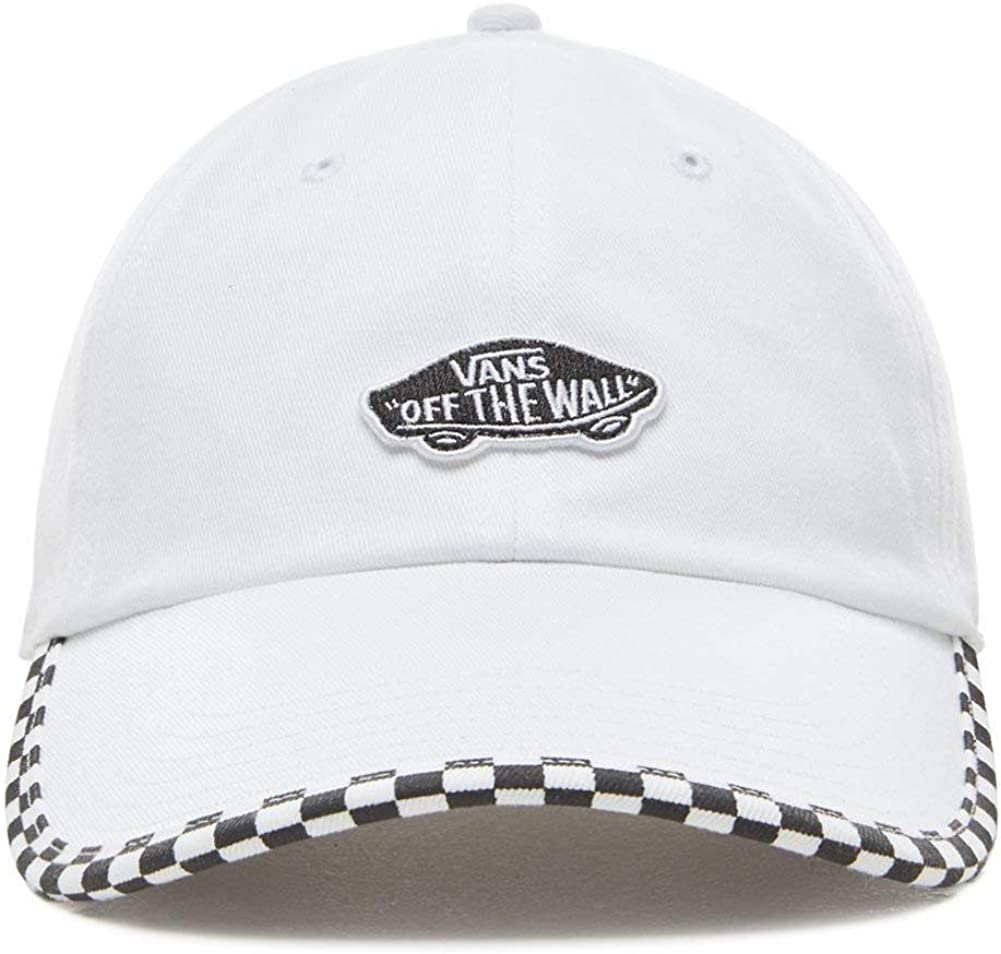 Vans - Gorra Check It Hat - VN0A3UQDC131 - Blanco, U: Amazon.es ...