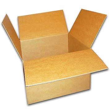 150 Cajas cartón 250 x 250 x 100 mm Caja De Envíos Caja de cartón plegable Box: Amazon.es: Oficina y papelería