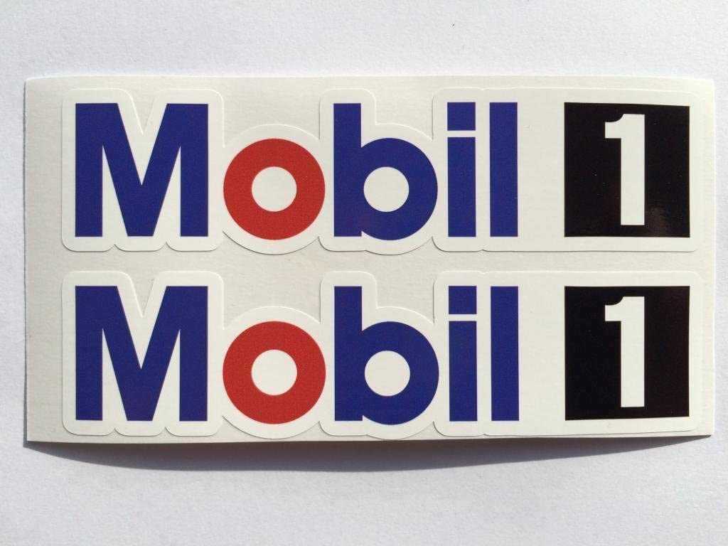 Mobil 1 Decal Set Quality Sticker Vinyl Graphic Logo Adhesive Kit 17 Pcs