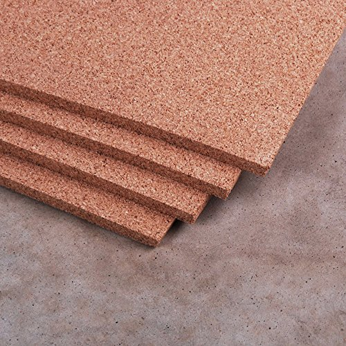 Natural Cork Sheet 4' x 8' x 1/2'' - Thickest available by Manton Cork
