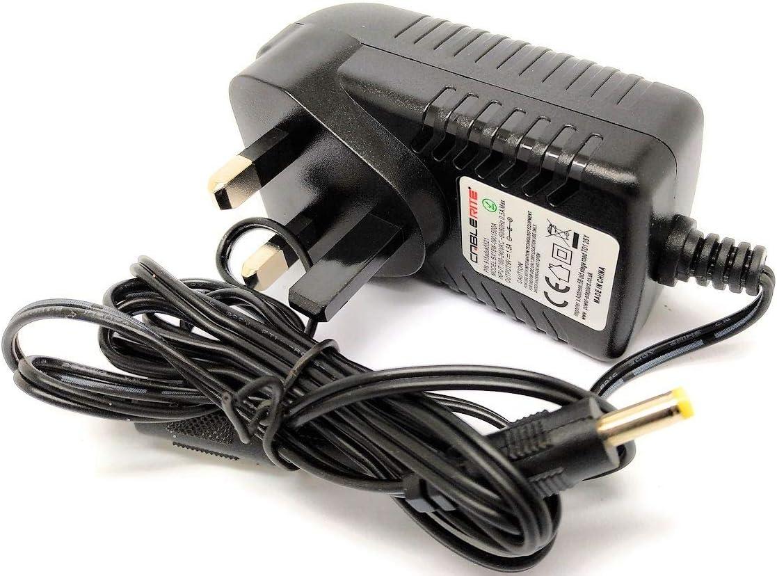 9V UK Plug Power Supply Mains AC Adapter 3rd Party Sega Mega Drive II 2