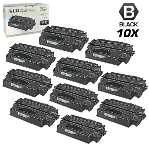 LD Compatible Toner Cartridge Replacement for HP 49X Q5949X High Yield (Black, 10-Pack)