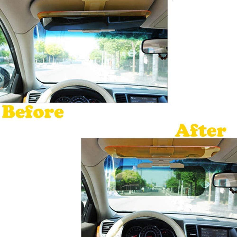 Auto Sonnenblende Extender Auto Blendfreie Getönte Windschutzscheibenverlängerung Nachtblendschutz Für Auto 2 In 1 Automobile Sonnenblende Universal Windschutzscheibe Fahrvisier Auto