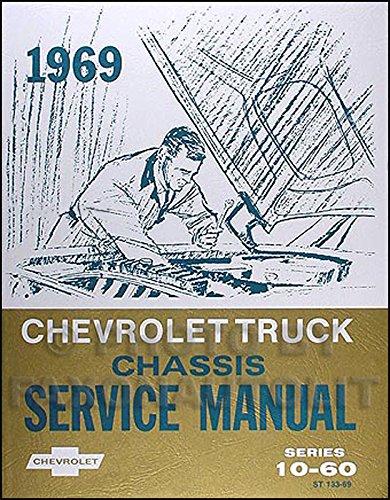 1969 Chevrolet Van, Pickup & Truck Chassis Repair Shop Manual Reprint