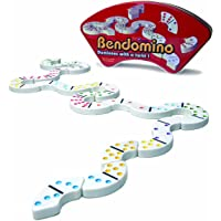 Blue Orange Games Bendomino: Dominoes with a Twist! Tile Game