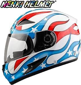 Bandera Americana de Modo de Llama del Casco de Moto, Fresco ...